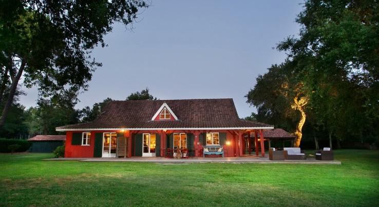Rustmann associ s agence immobiliere les landes vente for Maison en bois de luxe