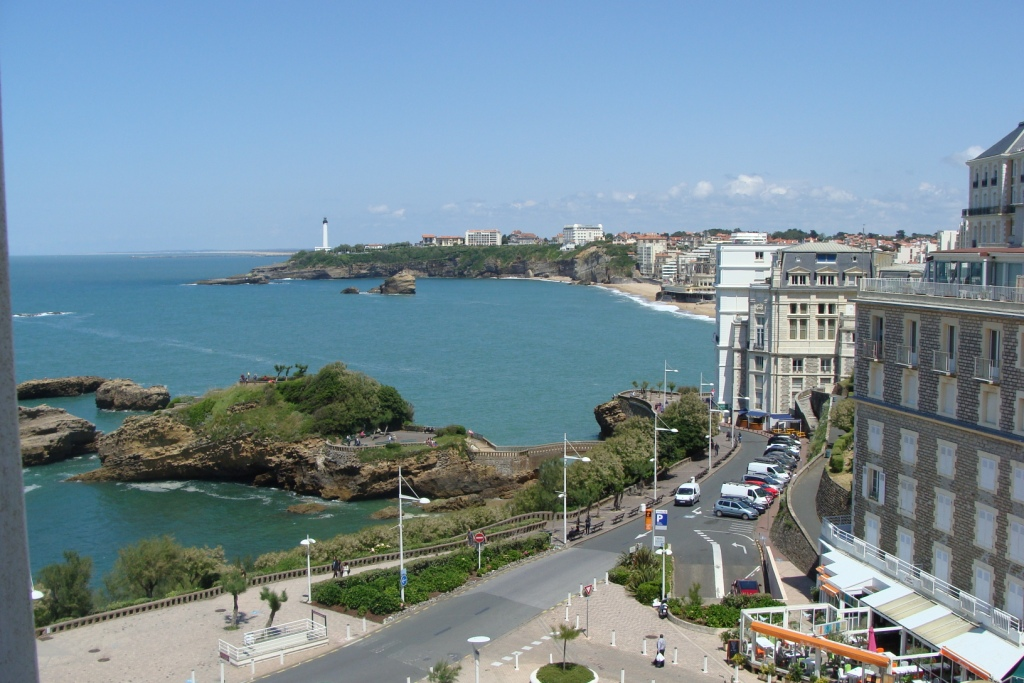 A vendre appartement biarritz vue oc an centre ville ref for Immobilier bordeaux centre ville
