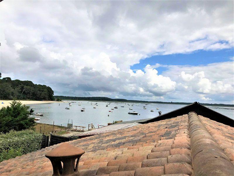 Cabane avec vue Bassin à vendre dans le village de Claouey