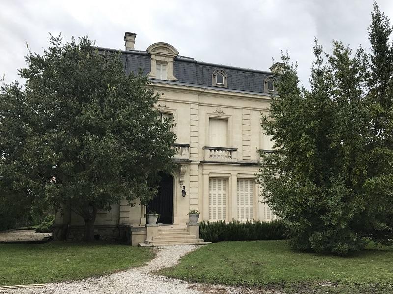 Parc Bordelais, exceptionnel hôtel particulier.