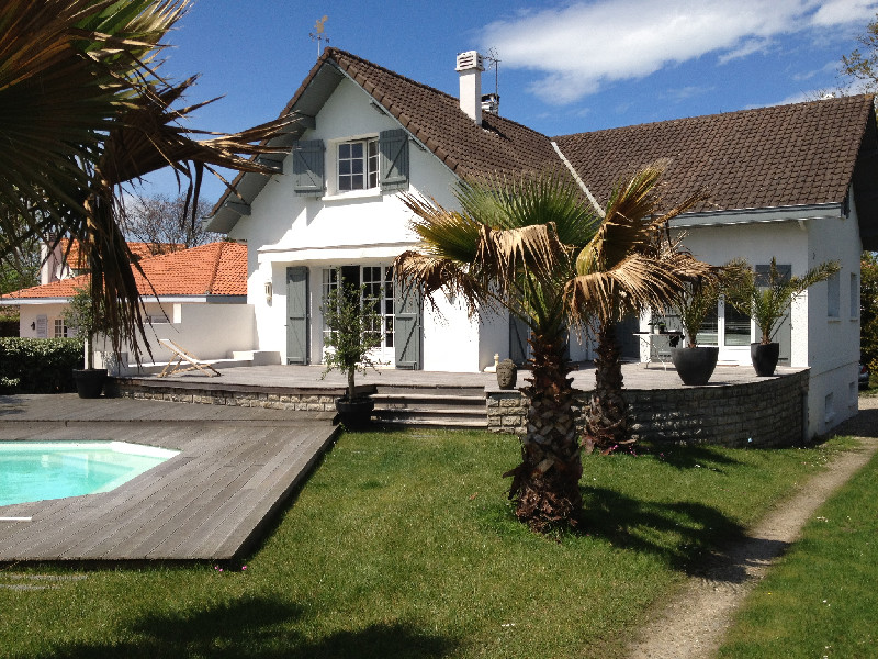 A vendre charmante maison anglet proche plage de chiberta for Agence immobiliere 5 cantons anglet