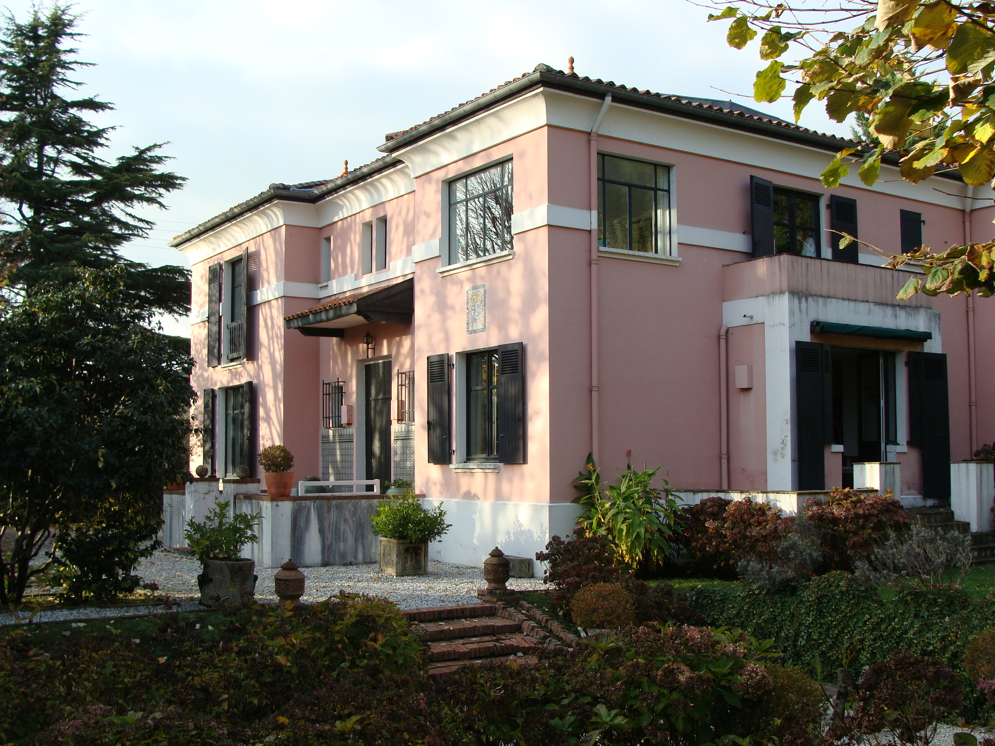 A vendre biarritz maison art d co ref ip pb 33 pays basque immobilier luxe prestige maison villa for Photo deco maison