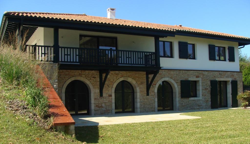 Souvent A Vendre URRUGNE corniche Belle maison moderne REF IP-PB#327 Pays  IF43