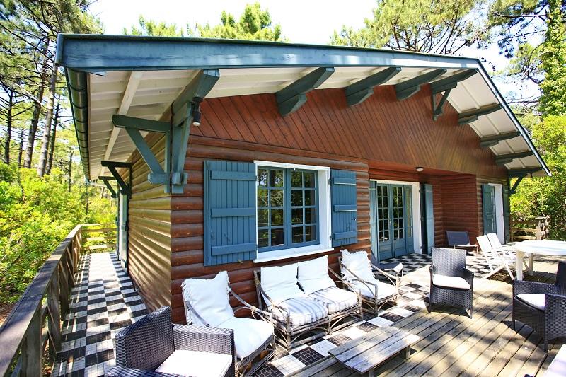 Maisons cap ferret maison a louer au cap ferret location - Maison en bois cap ferret ...